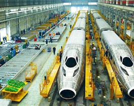 轨道交通制造使用案例