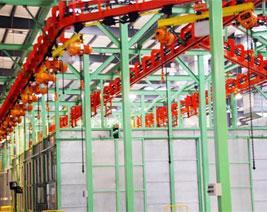 机械工业制造电缆使用案例