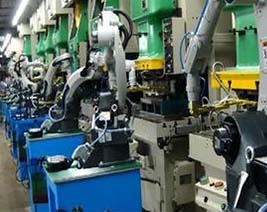 川崎机器人工厂电缆使用案例