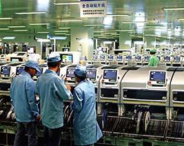手机工厂电缆使用案例