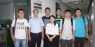 北京中科院莅临上海缆胜考察水下防水电缆项目