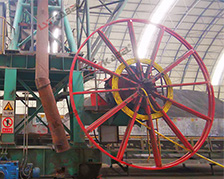 水泥厂堆取料机卷筒电缆