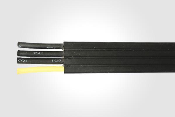 上海缆胜特种电缆有限公司只专注于柔性移动特种电缆  特种移动电缆专用外护套复合料,可在-15低温下仍然操持柔软,阻燃。 该电缆采用特殊结构设计,可作为动力及控制电缆安装在轨道,起重机、物 流输送等场合。  导体:多股精绞无氧铜丝,符合VDE0295CLASS 5标准 绝缘:颜色表示,符合2271IEC(棕、蓝、黑、黄绿),黑色数字白色号码编号,符合EN50214标准(如含黄绿接地线请说明) 护套:耐油、阻燃、弹性PVC专用护套或灰色(RAL7001)、黑色(RAL9005)。在室外使用时必须事先说明。如起
