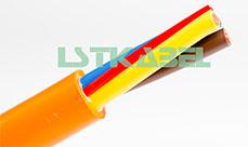 耐弯曲柔性拖链电缆