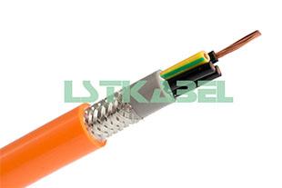 耐弯折拖链电缆(双护套带屏蔽)
